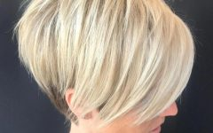 Short Feathered Bob Crop Hairstyles
