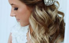 Shoulder Length Wedding Hairstyles