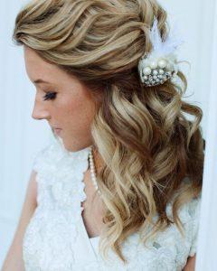 Shoulder Length Wedding Hairstyles
