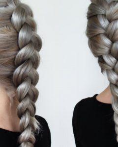 Three Strand Long Side Braid Hairstyles