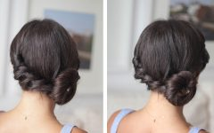 Twisted Side Roll Prom Updos