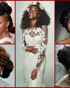 Wedding Hairstyles For Black Girl