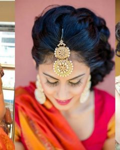 Wedding Hairstyles For Sarees