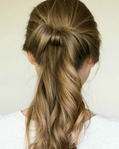 Loose And Looped Ponytail Hairstyles
