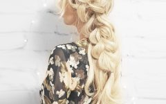 Blonde Accent Braid Hairstyles