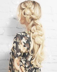 Blonde Accent Braid Hairstyles