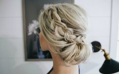 Braided Chignon Bun Hairstyles