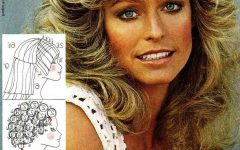 Farrah Fawcett-Like Layers For Long Hairstyles
