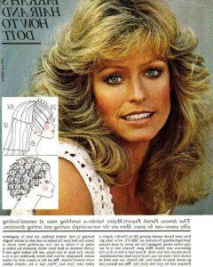 Farrah Fawcett-Like Layers For Long Hairstyles