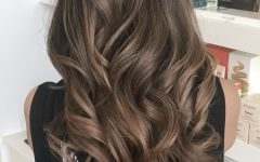 Soft Ombre Waves Hairstyles for Asian Hair
