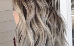 Ash Blonde Medium Hairstyles