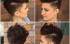 Asymmetrical Pixie Faux Hawk Hairstyles