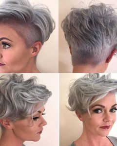 Edgy & Chic Short Curls Pixie Haircuts