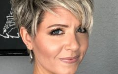 Edgy Look Pixie Haircuts With Sass