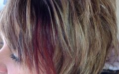 Fiery Red 70s' Inspired Face-framing Layers Hairstyles