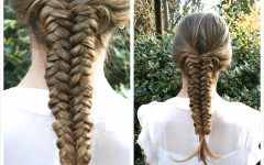 Flawless Mermaid Tail Braid Hairstyles