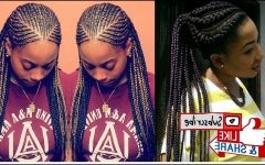 Ghanaian Braided Hairstyles