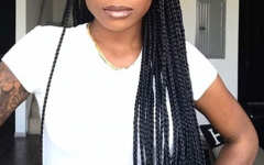 Long Braids for Black Hair