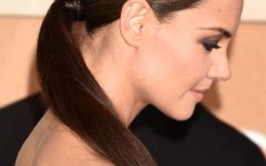 Low-hanging Ponytail Hairstyles
