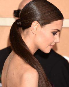 Low-Hanging Ponytail Hairstyles