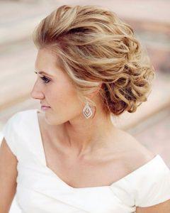 Medium Hairstyles for Bridesmaids