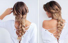 Messy Braid Hairstyles