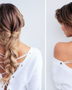 Messy Braid Hairstyles