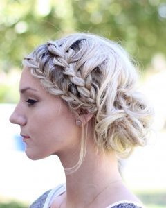 Messy Double Braid Hairstyles