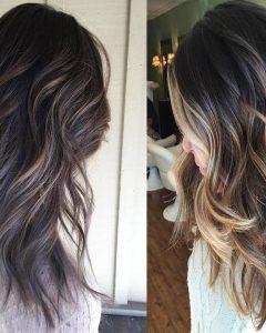 Multi-layered Mix Long Hairstyles