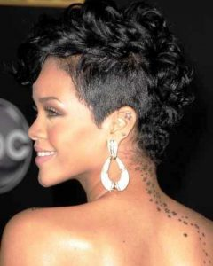 Pixie Mohawk Haircuts for Curly Hair