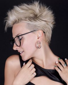 The Pixie-Slash-Mohawk Hairstyles