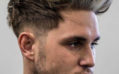 Fauxhawk Hairstyles with Front Top Locks