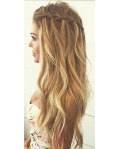 Braided Loose Hairstyles