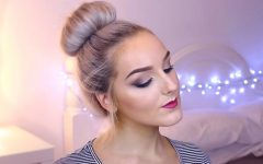 Classy Low Bun Hairstyles for Big Foreheads