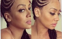 Cornrows Hairstyles for Oval Faces