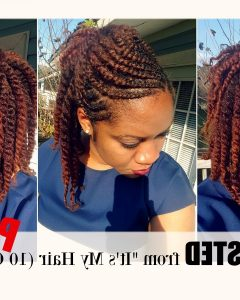 Cornrows Twist Hairstyles