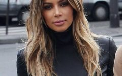 Kim Kardashian Medium Haircuts