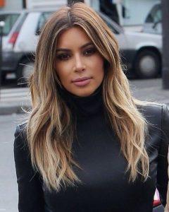 Kim Kardashian Medium Haircuts