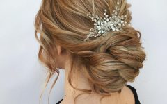 Naturally Textured Updo Hairstyles
