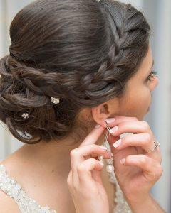Sleek And Simple Wedding Hairstyles