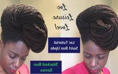 Swirl Bun Updo Hairstyles