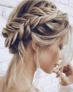 Wispy Fishtail Hairstyles