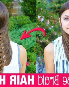 Wrapped Ponytail With In-Front-Of-The-Ear Braids