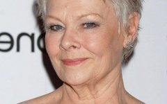 Judi Dench Pixie Haircuts