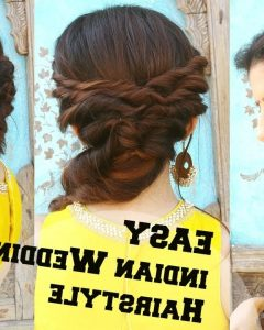 Braided Hairstyles For Long Hair Indian Wedding