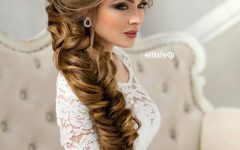 Fishtail Braid Wedding Hairstyles