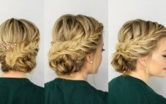 Fishtail Braid Updo Hairstyles