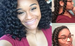 Flat Twists into Twist Out Curls