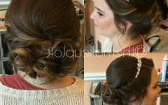 Teased Prom Updos With Cute Headband