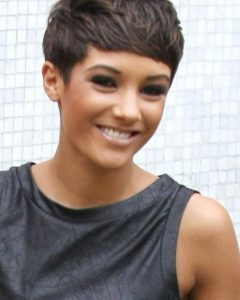 Frankie Sandford Cute Feather Pixie Bob Hairstyles